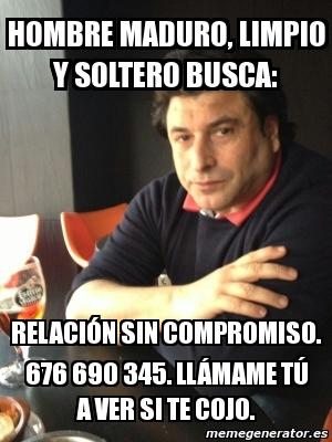 Hombre Soltero Maduro-26566